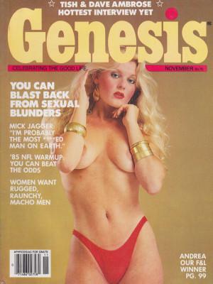 Genesis - November 1985