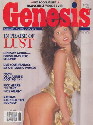 Genesis - April 1986