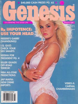 Genesis - March 1988