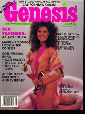 Genesis - August 1988