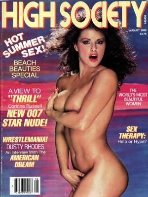 High Society - August 1985