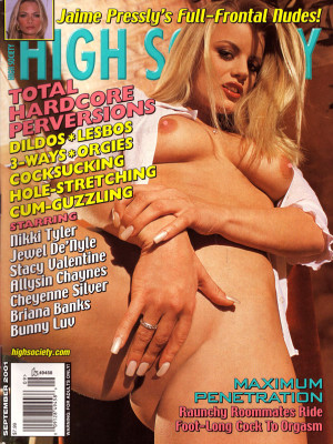 High Society - September 2001