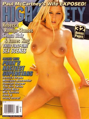 High Society - November 2002