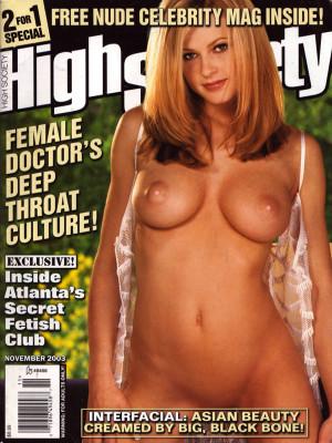 High Society - November 2003