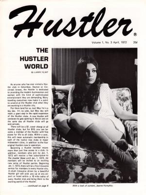 Hustler - April 1972