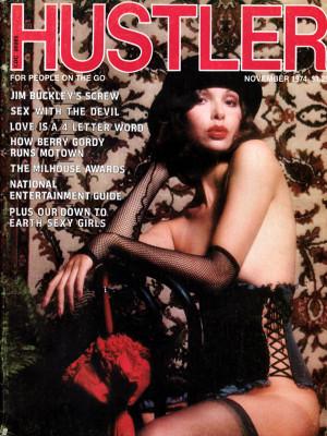 Hustler - November 1974