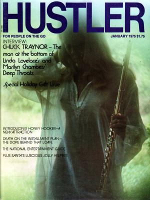 Hustler - January 1975