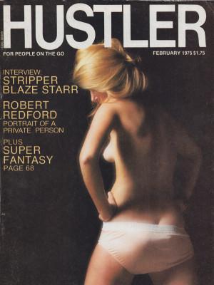 Hustler - February 1975