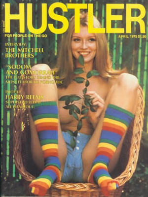 Hustler - April 1975