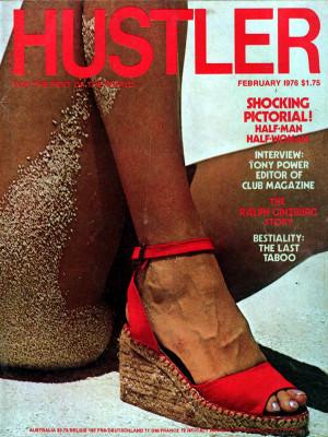 Hustler - February 1976