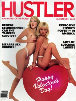 Hustler - March 1983