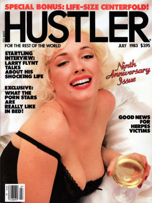 Hustler - July 1983