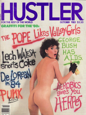 Hustler - October 1983