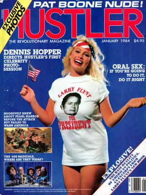 Hustler - January 1984