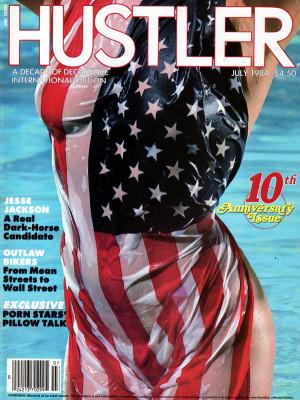 Hustler - July 1984