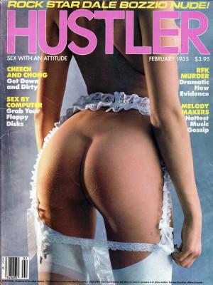 Hustler - February 1985