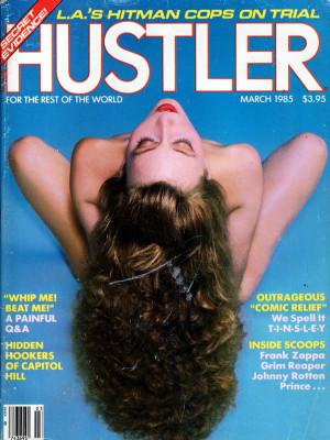 Hustler - March 1985