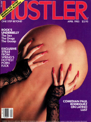 Hustler - April 1985