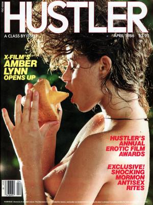Hustler - April 1986