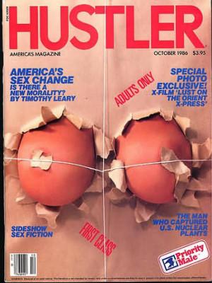 Hustler - October 1986