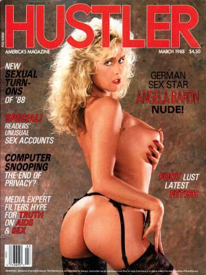 Hustler - March 1988