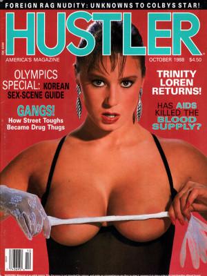 Hustler - October 1988