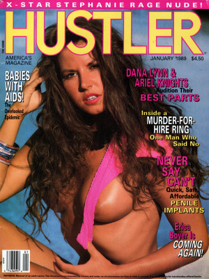 Hustler - January 1989