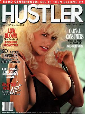 Hustler - April 1989