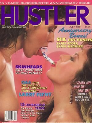 Hustler - July 1989