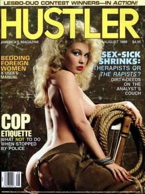 Hustler - August 1989