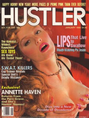Hustler - January 1990