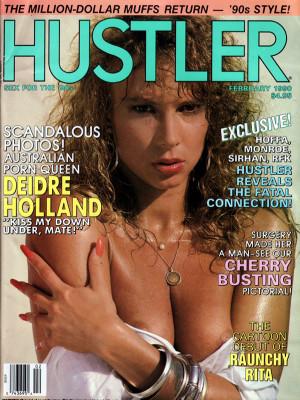Hustler - February 1990