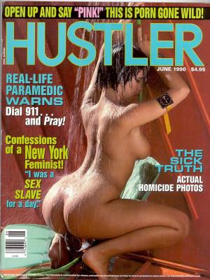 Hustler - June 1990