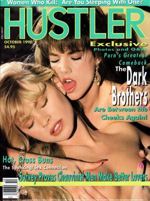 Hustler - October 1990