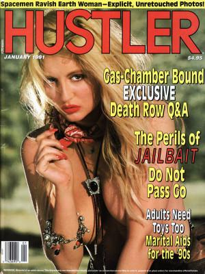 Hustler - January 1991