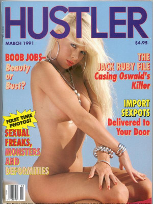Hustler - March 1991