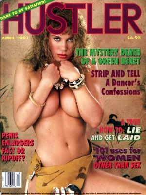 Hustler - April 1991
