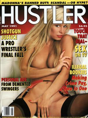 Hustler - May 1991