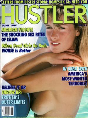 Hustler - June 1991