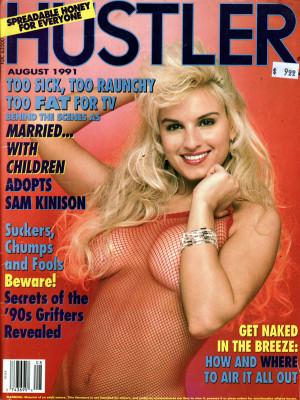 Hustler - August 1991