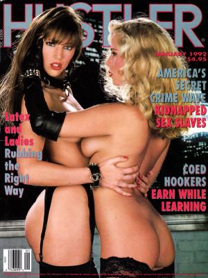 Hustler - January 1992