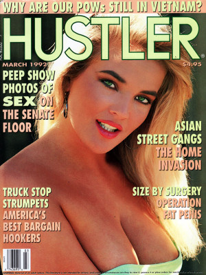 Hustler - March 1992
