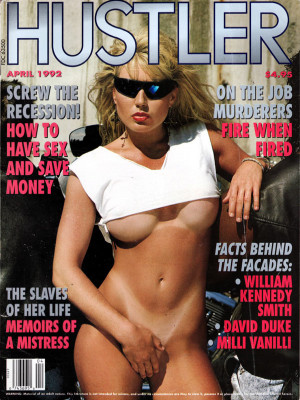 Hustler - April 1992
