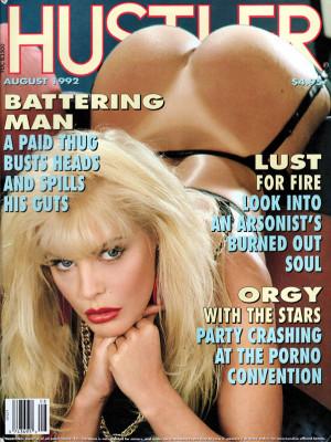 Hustler - August 1992