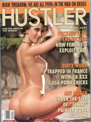 Hustler - December 1992
