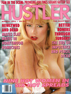 Hustler - March 1993