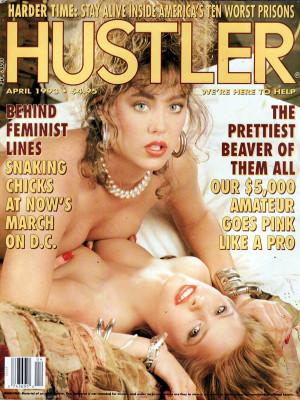 Hustler - April 1993