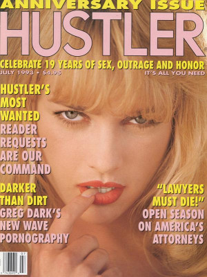 Hustler - July 1993