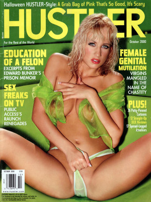 Hustler - October 2000