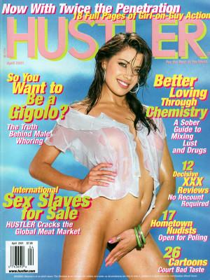 Hustler - April 2001